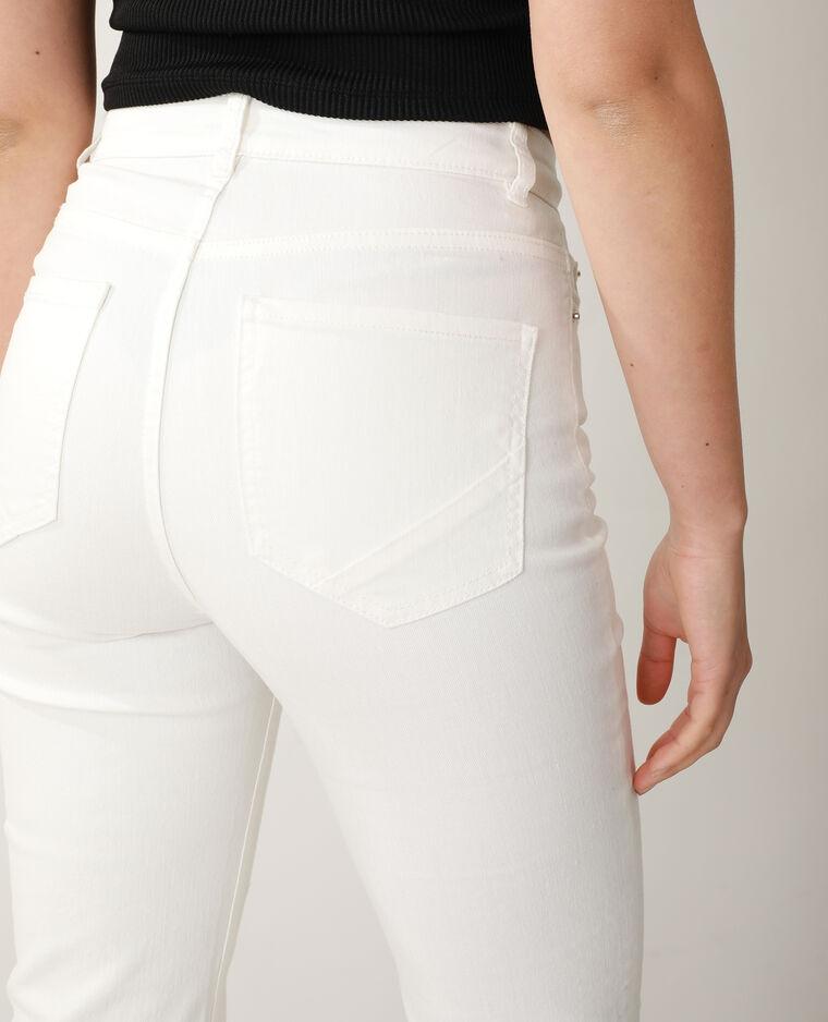 Jeans flare high waist bianco - Pimkie