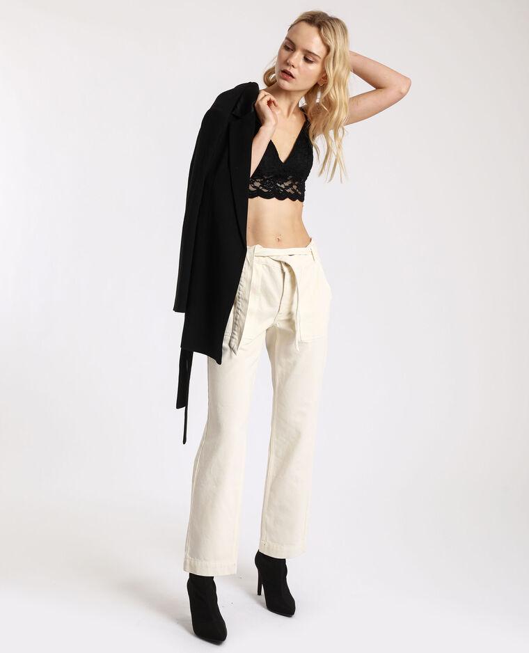 Pantalone dritto con tasche beige - Pimkie