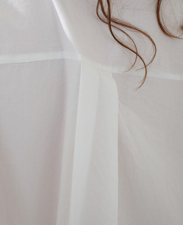 Abito camicia oversize bianco - Pimkie