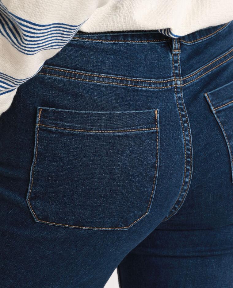 Jeans bootcut blu denim