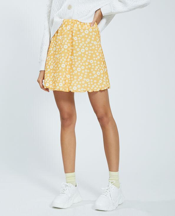 Minigonna a fiori giallo - Pimkie
