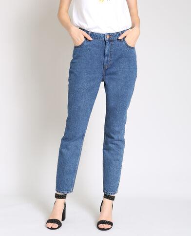 Jeans mom blu scuro