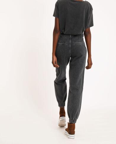 Jeans cargo nero