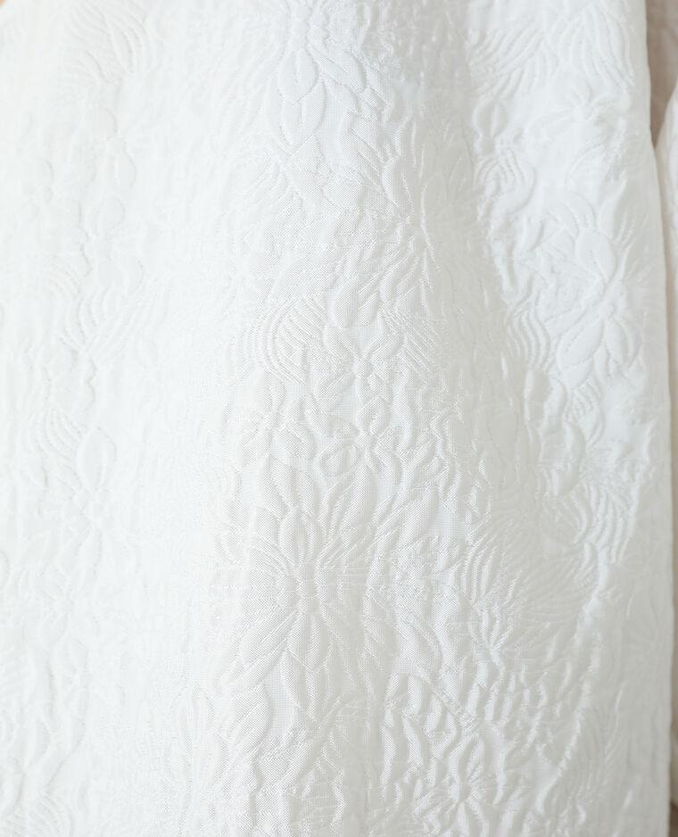 Abito a fiori bianco sporco - Pimkie