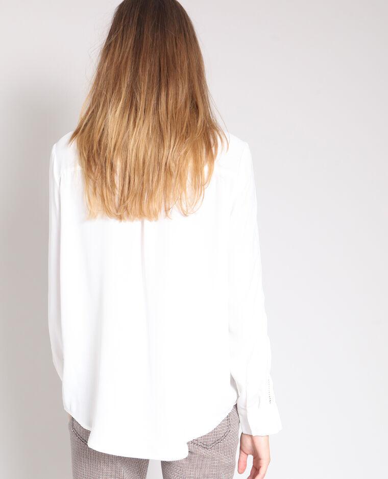 Camicia morbida bianco sporco - Pimkie
