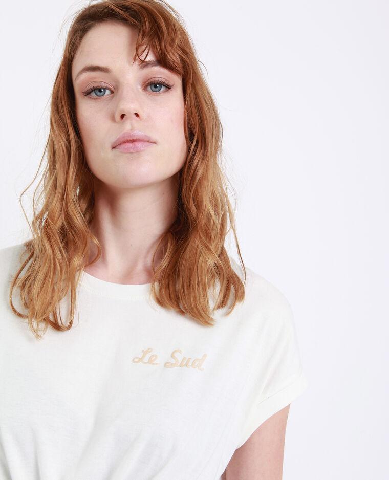 T-shirt Le Sud bianco sporco