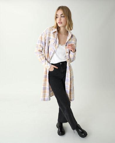 Camicia lunga oversize beige - Pimkie