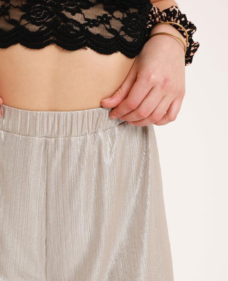 Pantalone a gamba larga Giallo