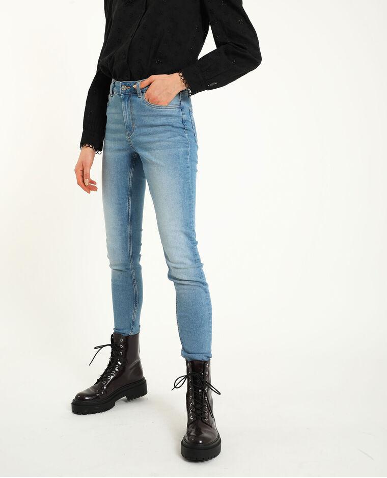 Skinny mid waist blu denim - Pimkie
