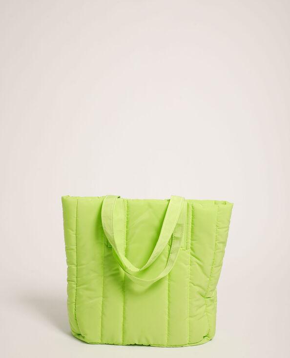Borsa shopping trapuntata verde - Pimkie