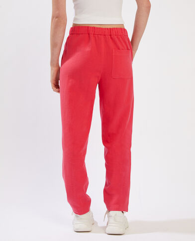 Pantalone da jogging rosso - Pimkie