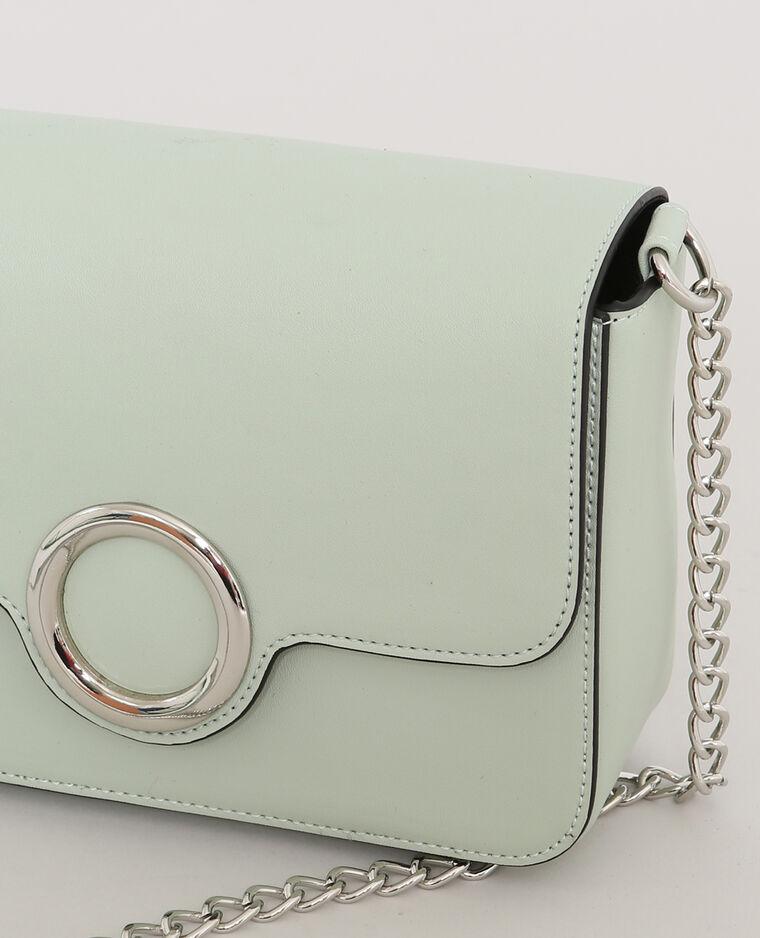 Piccola borsa boxy verde