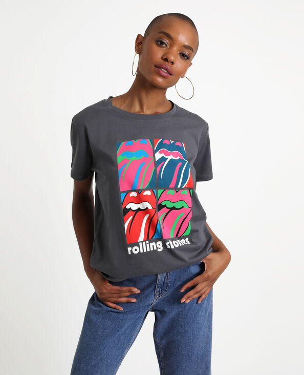 T-shirt The Rolling Stones nero