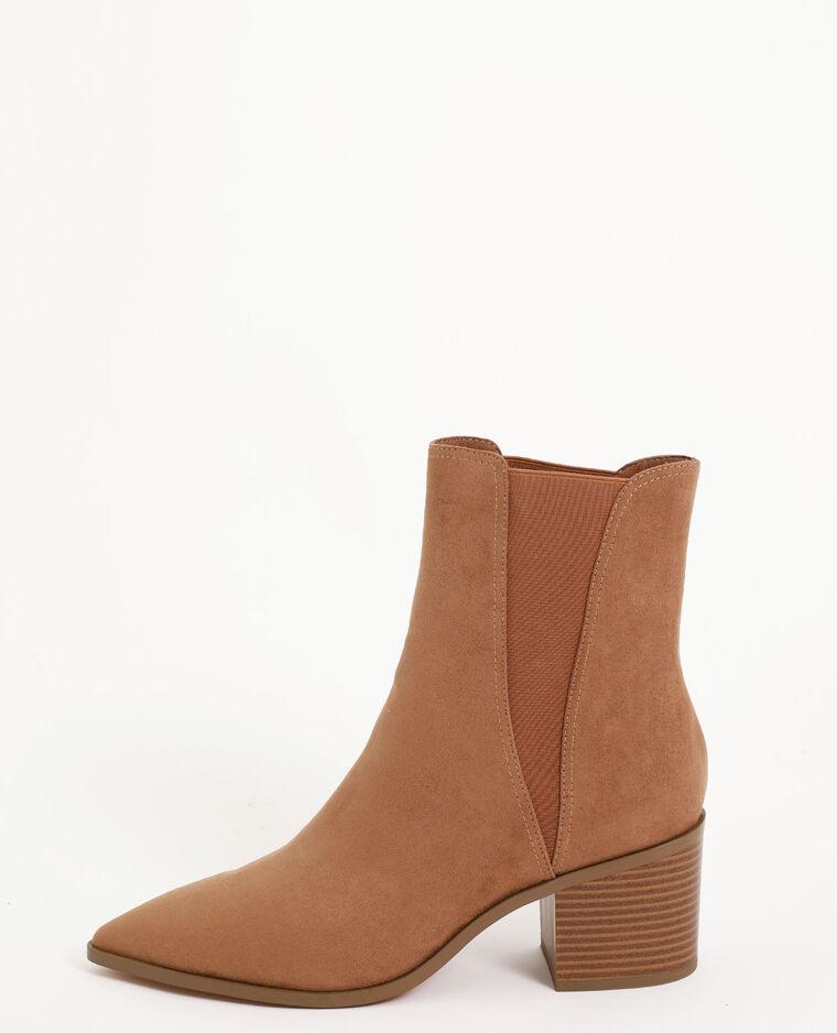 Boots in stile western marrone