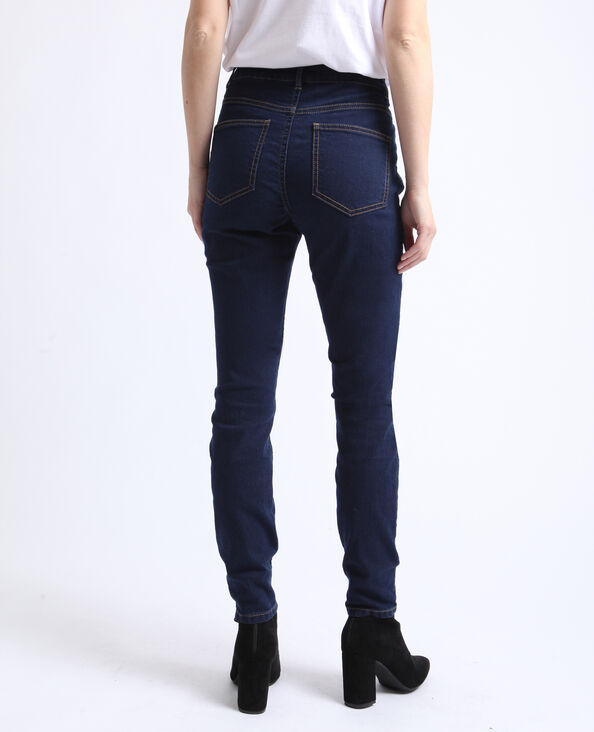 Jeggings mid waist blu scuro