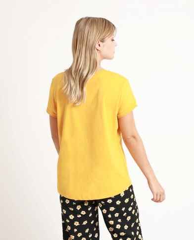 T-shirt stampata bruno
