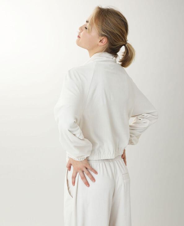 Giacca in velluto bianco sporco - Pimkie