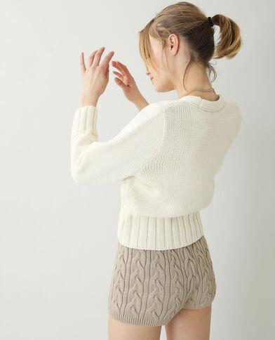 Cardigan bianco sporco - Pimkie