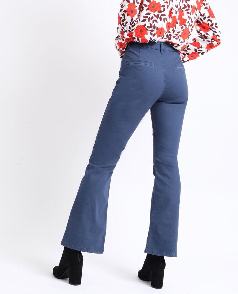 Pantalone flare blu scuro