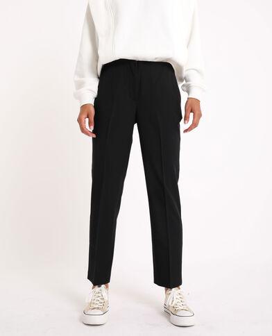Pantalone dritto nero - Pimkie