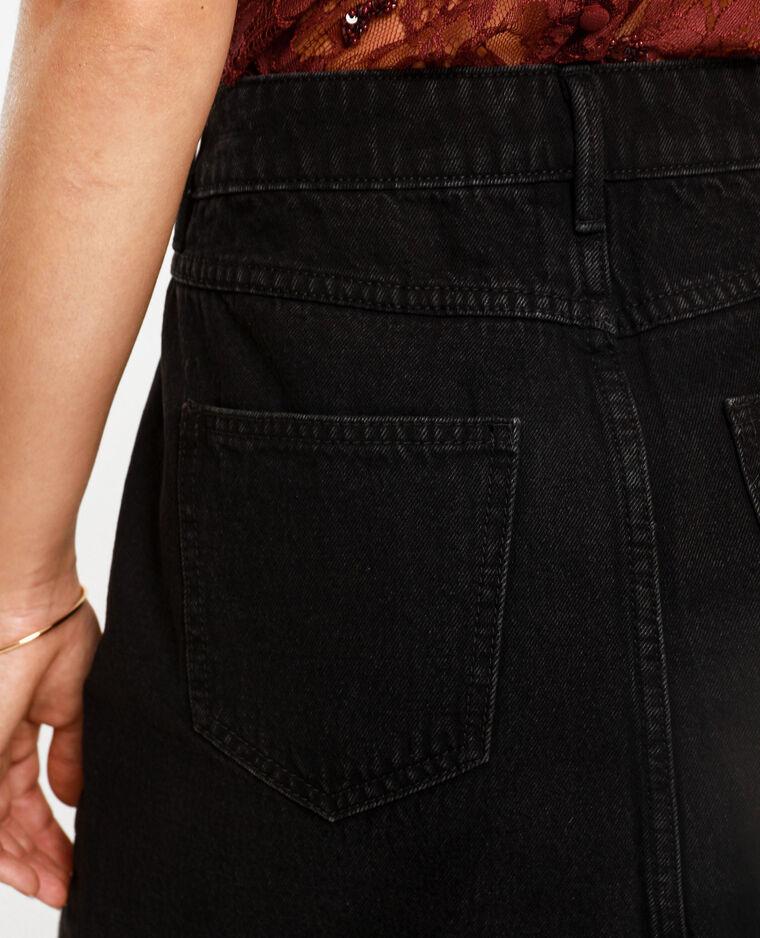 Gonna in jeans grigio scuro - Pimkie