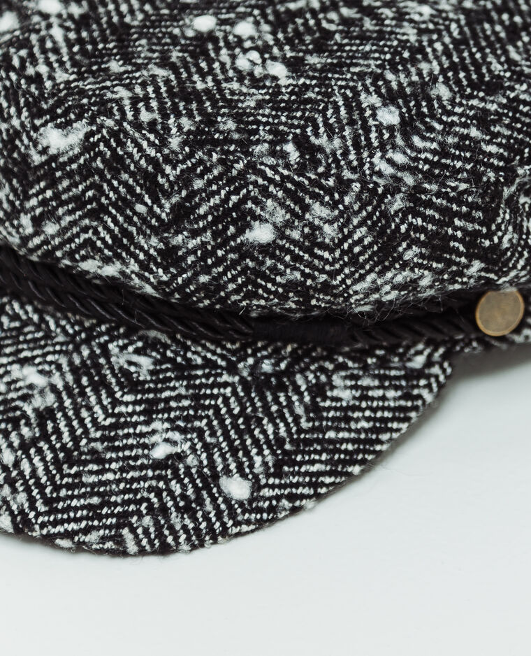 Cappellino da monello nero