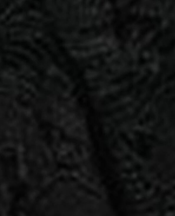 Elastico in pizzo nero