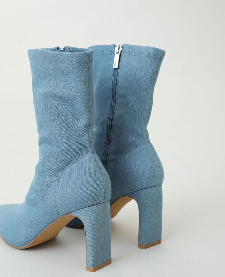 Stivaletti di jeans blu - Pimkie