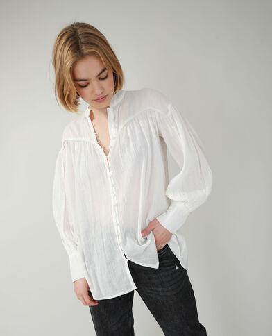 Camicia lunga bianco sporco - Pimkie