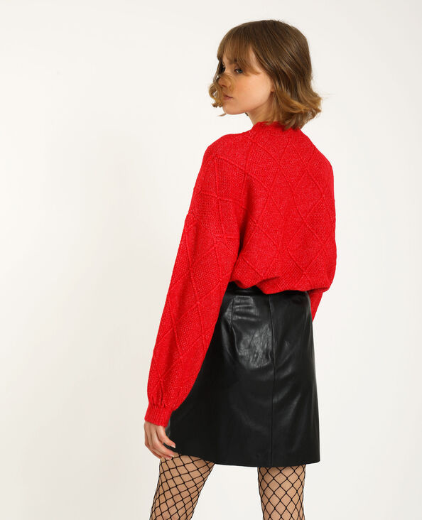 Pull a rombi rosso