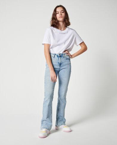 Jeans flare mid waist blu chiaro - Pimkie