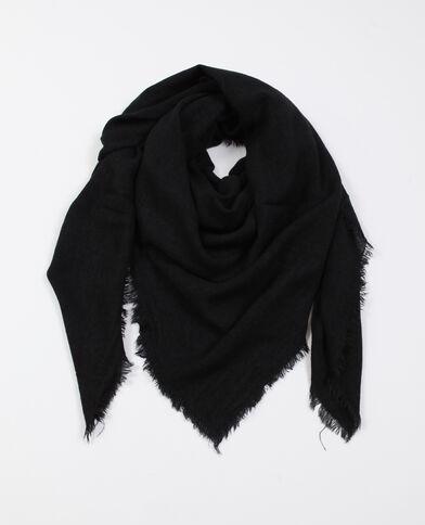 Foulard sottile nero