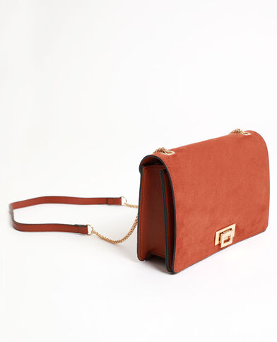 Piccola borsa boxy marrone