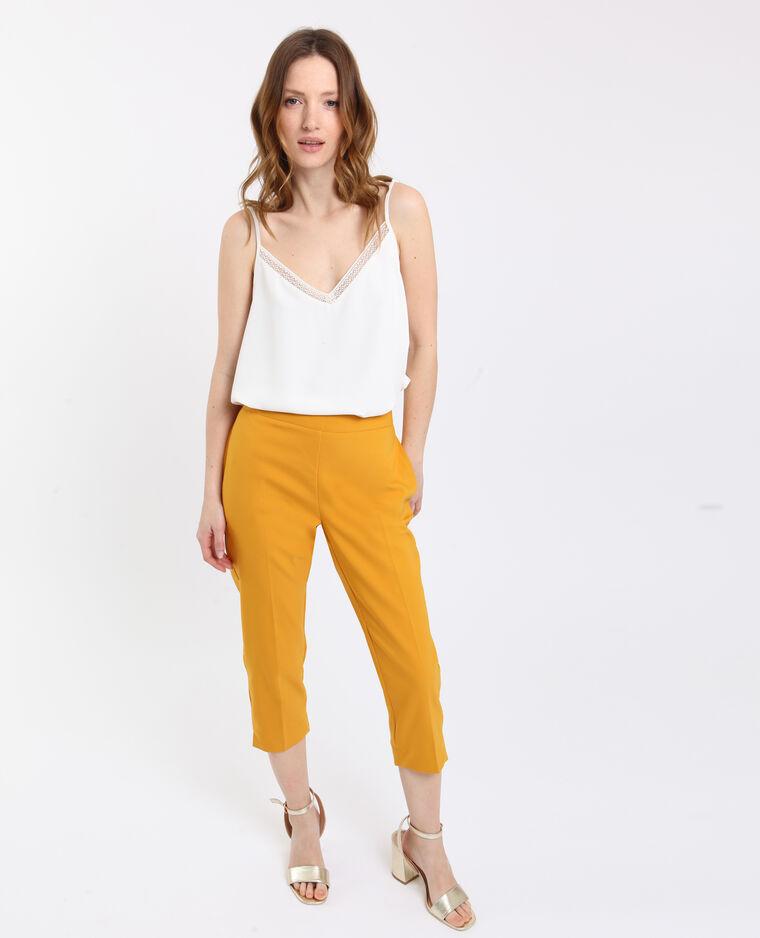 Pantalone city giallo