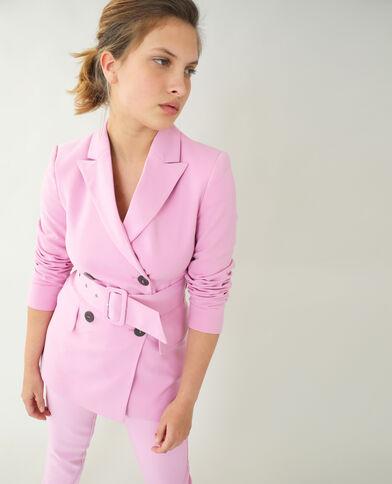 Giacca city rosa