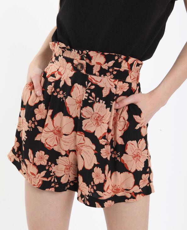 Short a fiori nero