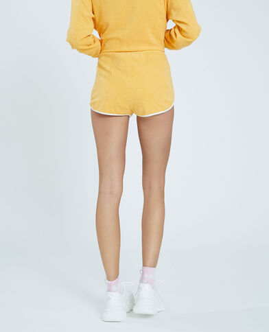 Short in spugna giallo - Pimkie