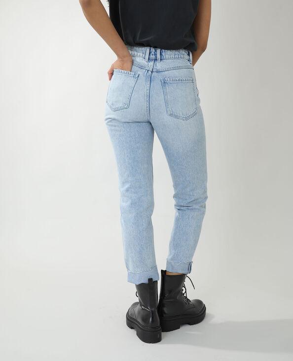 Jeans straight high waist blu chiaro - Pimkie
