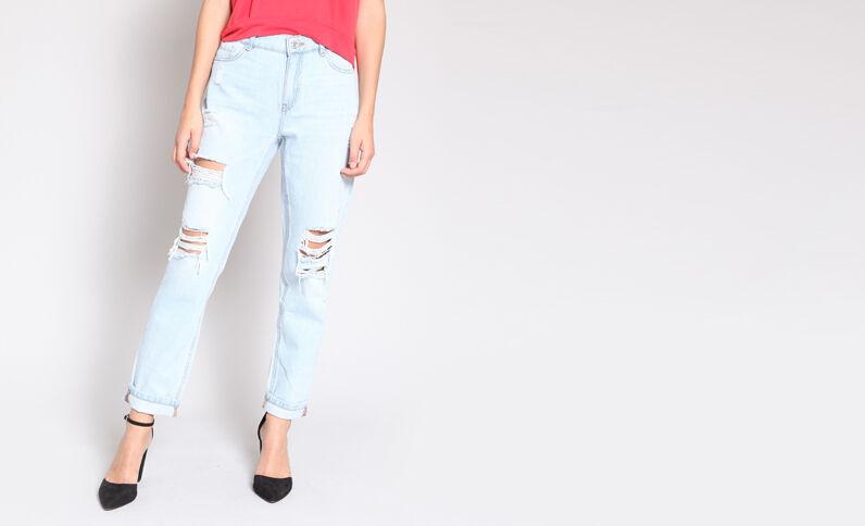 Jeans boyfriend blu chiaro
