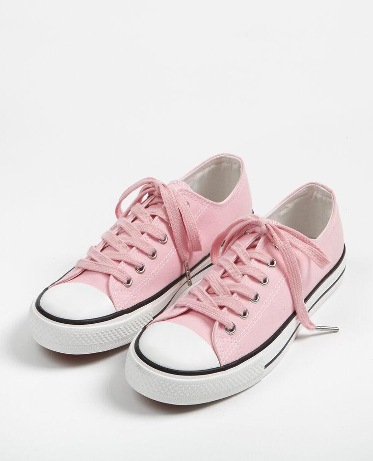 arrivato prezzo all'ingrosso prezzo ragionevole Scarpe da tennis in tela basse rosa cipria - 904492259A02 | Pimkie