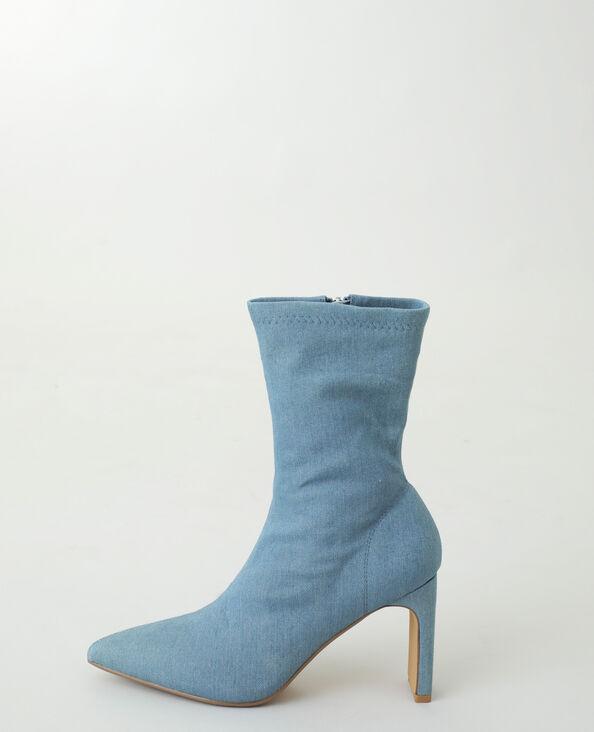 Stivaletti di jeans blu