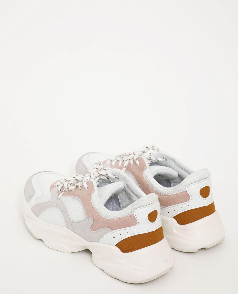 Scarpe sportive in vari materiali bianco