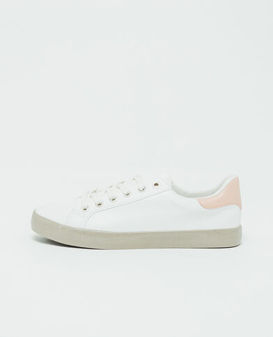 Scarpe da basket basse bianco