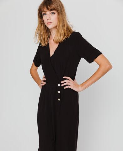 Abito-pantalone nero