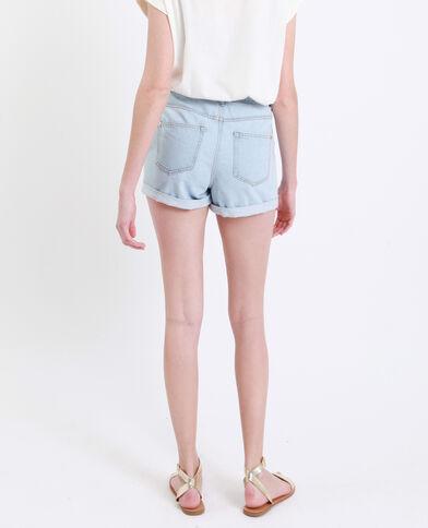 Short mom blu chiaro