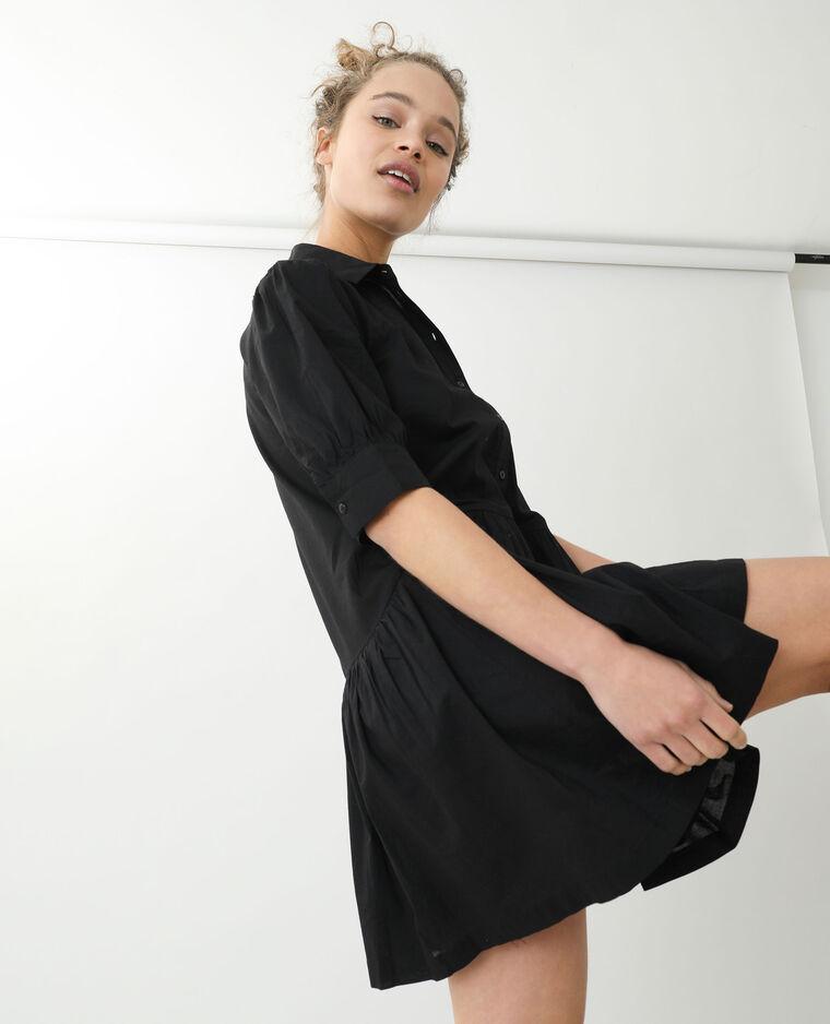 Abito camicia nero - Pimkie