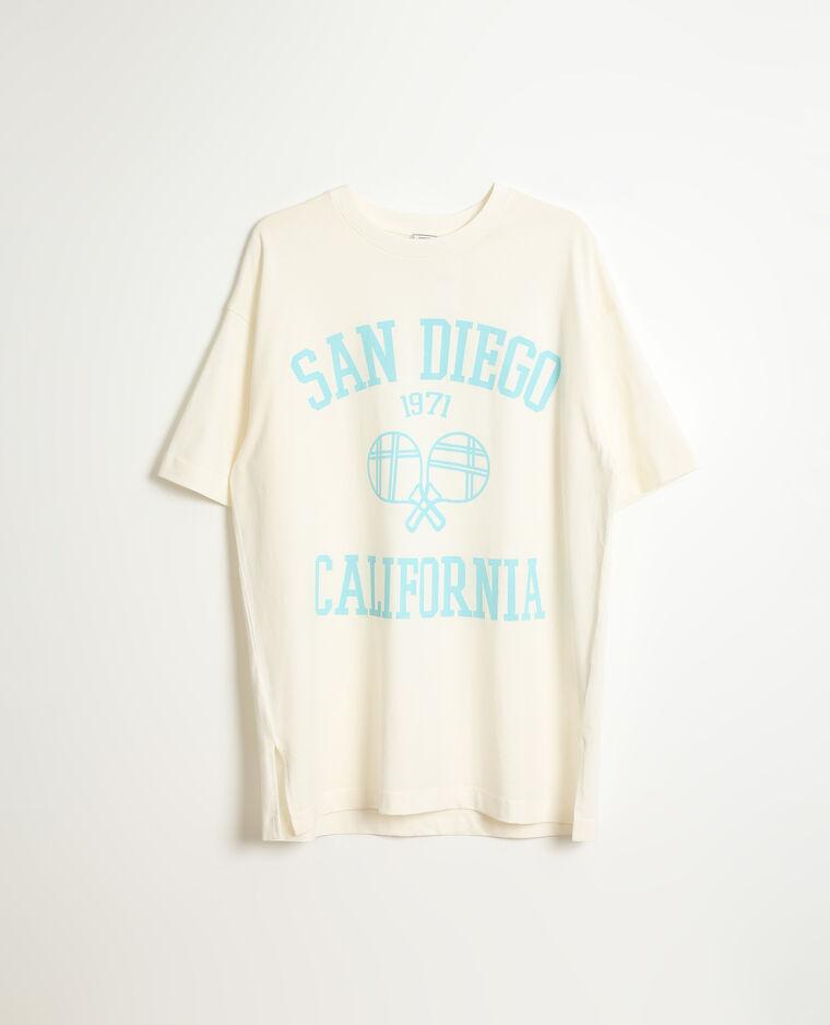 T-shirt oversize beige - Pimkie