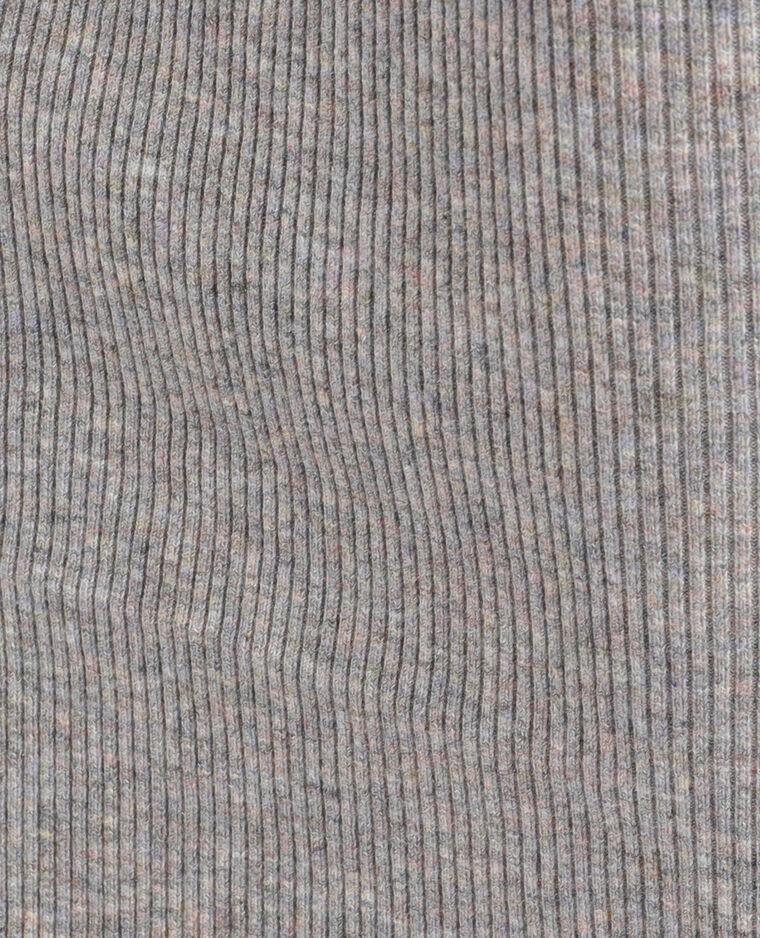 Abito in maglia grigio chiné