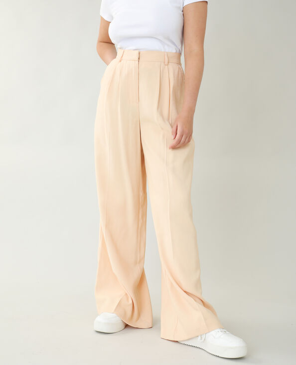 Pantalone city beige