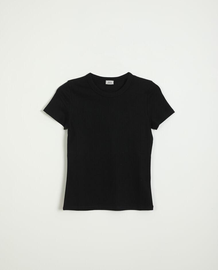 T-shirt basic nero